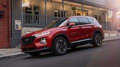 The 2019 Hyundai Santa Fe.