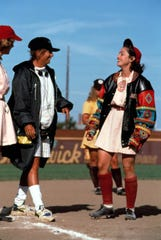 Penny Marshall directed Madonna in 'A League of Their Own,' the first movie directed by a woman to gross $100 million.