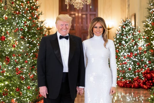 Xxx Trump Christmas Portrait Dec 512 Jpg Usa Dc