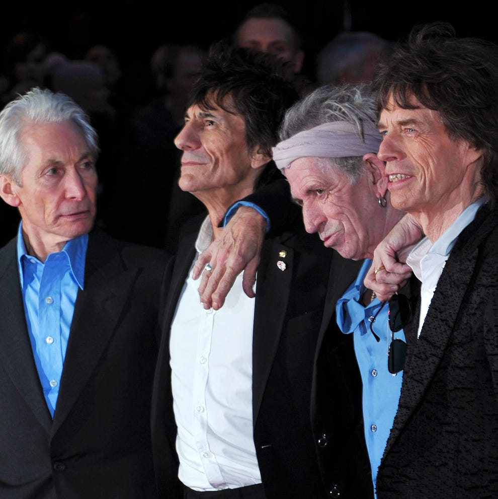 The Rolling Stones are headlining the New Orleans Jazz and Heritage Festival