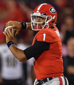QB Justin Fields might be leaving Georgia.