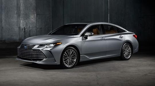 The 2019 Toyota Avalon.