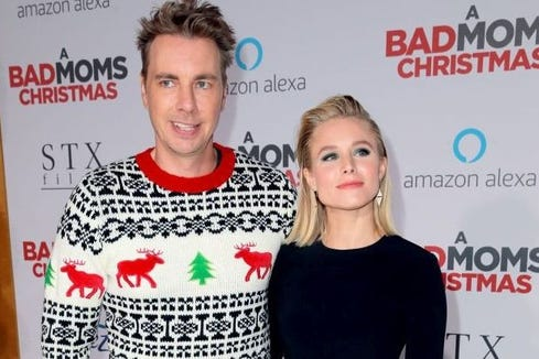 Dax Shepard got some kickback from other parents because their daughters don't believe in Santa.