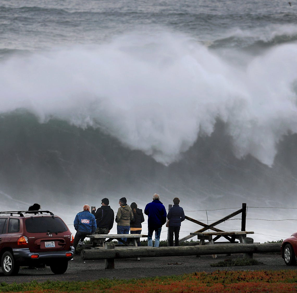 California surfers brave death in big waves and social media shows off the madness