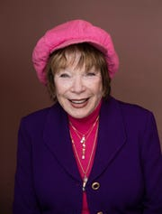 "Shirley MacLaine posing for a portrait to promote the film, ""The Last Word"", during the Sundance Film Festival in Park City, Utah on Jan. 23, 2017."