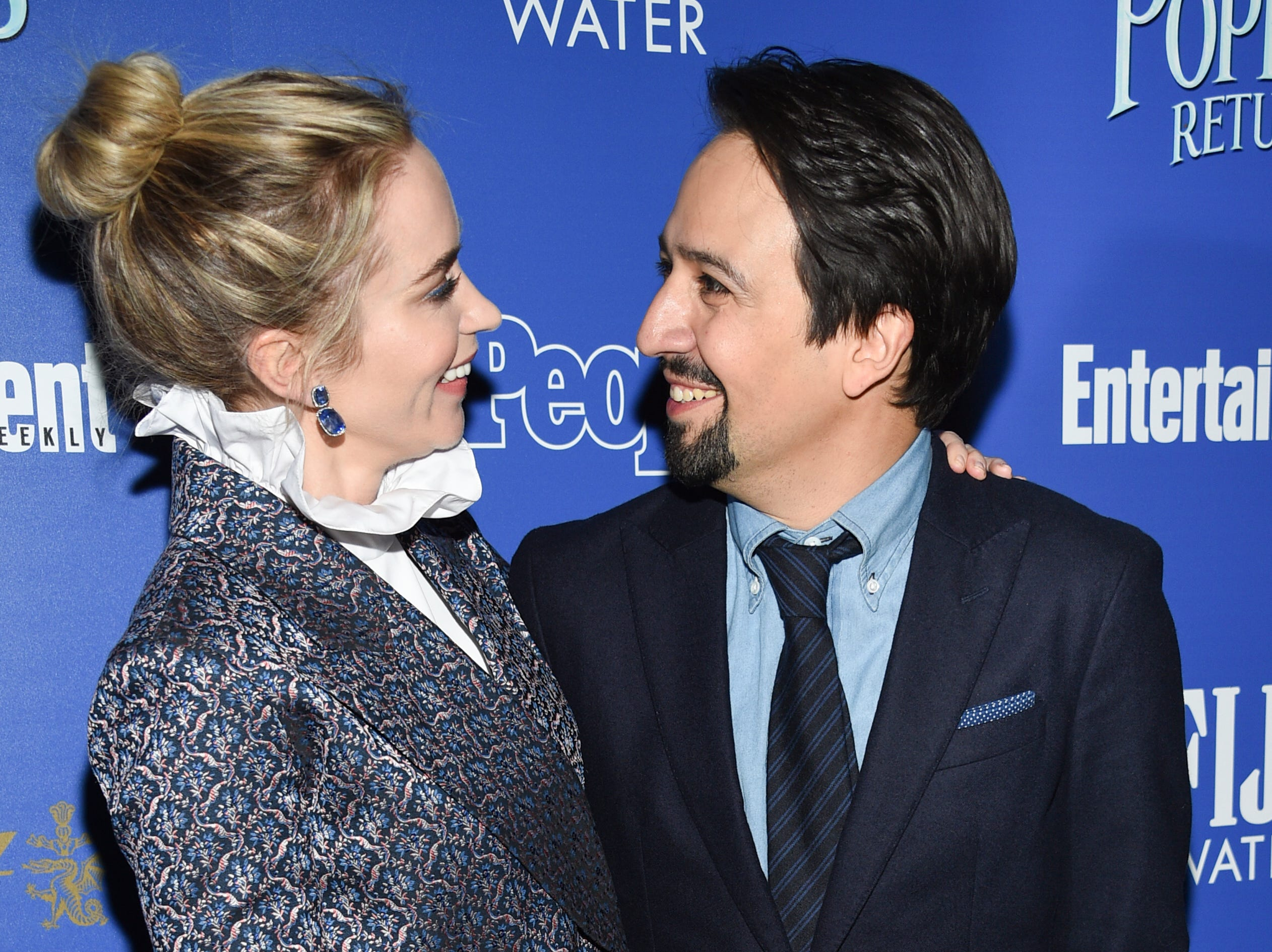 """xxx attends a special screening of Disney's """"Mary Poppins Returns"""", hosted by The Cinema Society, at the SVA Theatre on Monday, Dec. 17, 2018, in New York. (Photo by Evan Agostini/Invision/AP) ORG XMIT: NYEA221"""