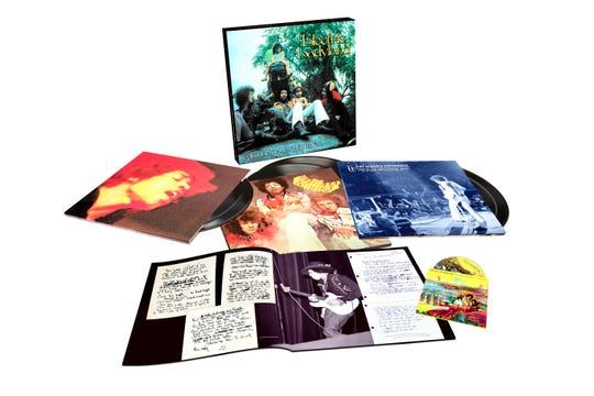 """The Jimi Hendrix Experience – Electric Ladyland Deluxe Editionincludes the first surround treatment of a Hendrix release (on Blu-ray Disc) and three CDs, one a never-before released official live bootleg, """"Jimi Hendrix Experience: Live At the Hollywood Bowl 9/14/68."""""""