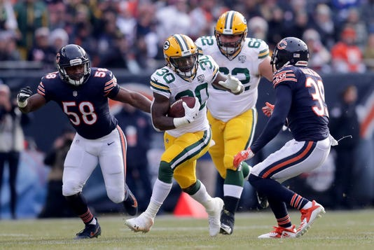 Usp Nfl Green Bay Packers At Chicago Bears S Fbn Usa Il
