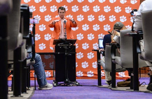 Clemson Football Early Siging Day December 19