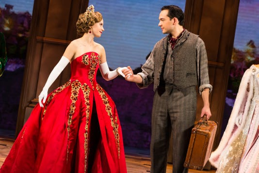 Lila Coogan Anya And Stephen Brower Dmitry In The National Tour Of Anastasia Photo By Evan Zimmerman Murphymade