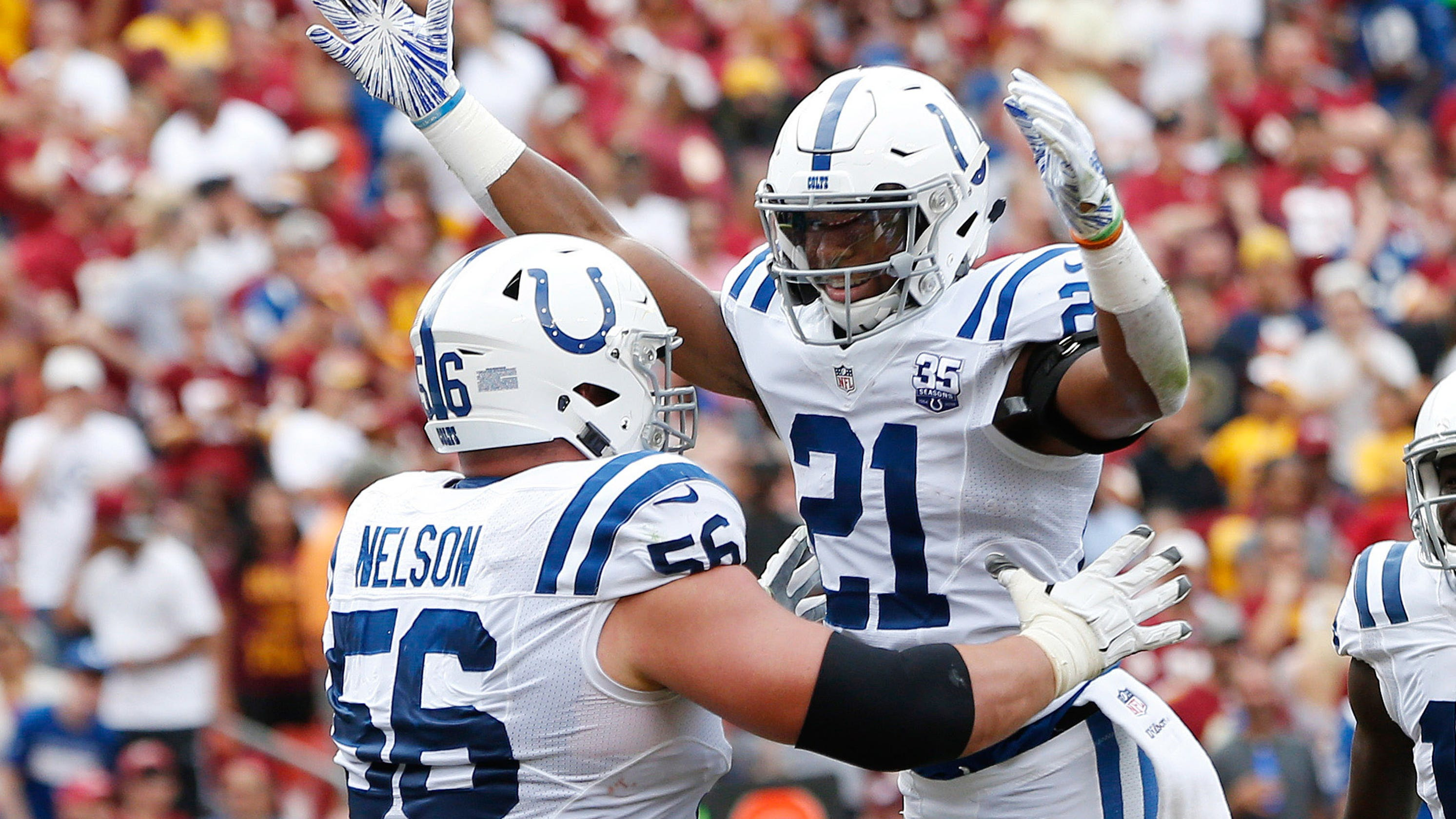 newest fb21c cd583 NFL: Former RBC star Quenton Nelson selected to Pro Bowl ...