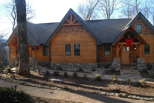 The spa building is a recent addition to the facilities at the Orchard Inn.