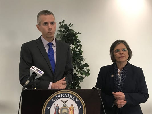 Congressman-elect Anthony Brindisi NY22, and Assemblywoman Donna Lupardo, D-Endwell discuss the Charter/Spectrum settlement.