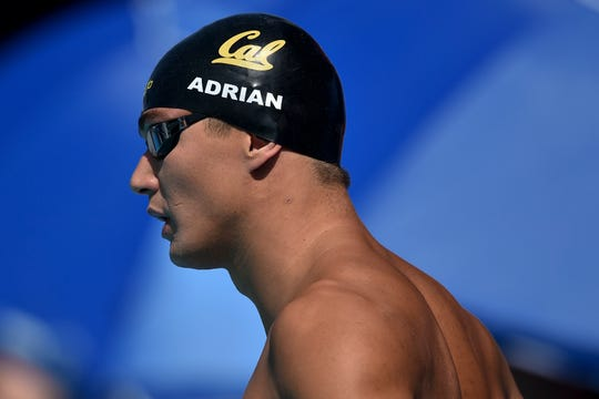 Nathan Adrian during the 2018 USA Swimming Phillips 66 National Championships in July.