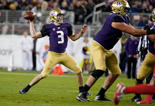 Four-year starter Jake Browning will throw his final college pass sometime during the Rose Bowl on Jan. 1.