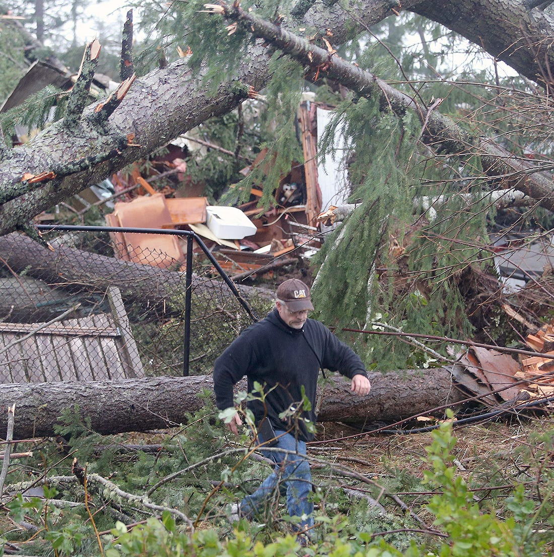 Rare tornado destroys homes, property in Port Orchard