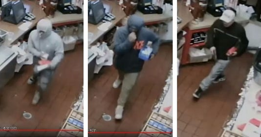 Popeyes robbery suspects