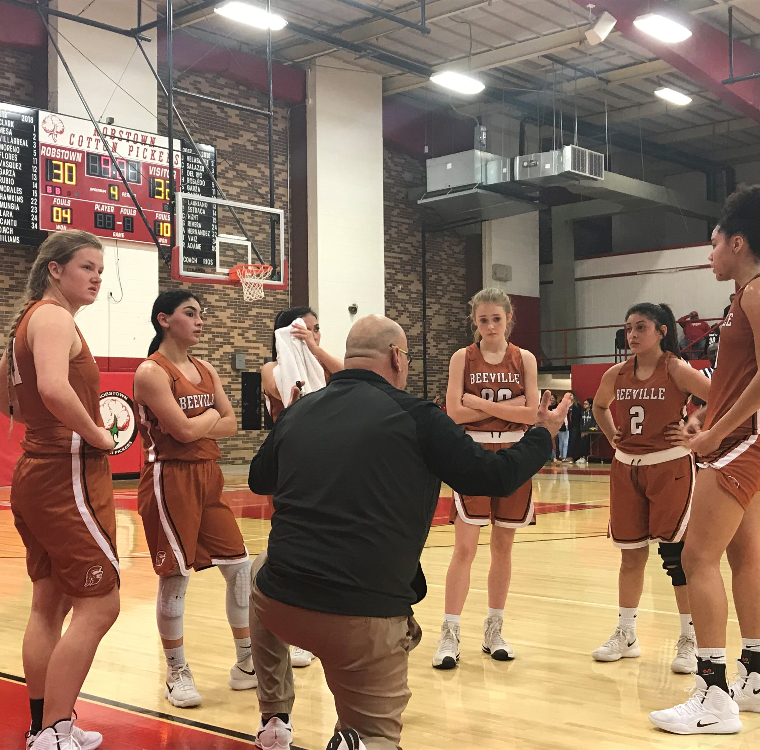 Late free throws lift Robstown to win against Beeville in high school girls basketball