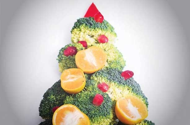 Make healthy food choices when you can over the holiday season.