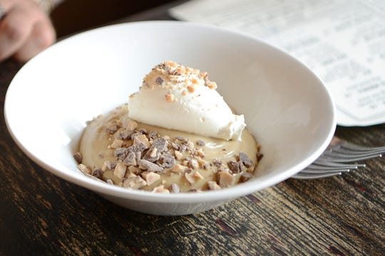 The butterscotch pudding will make you swoon at South and Pine in Morristown.