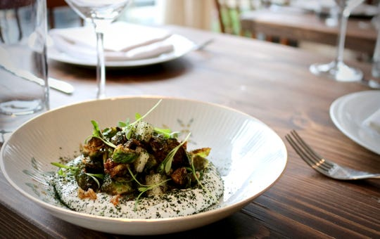 Fall meant Brussels Sprouts at their best at Porch & Proper in Collingswood in this dish from the daily specials menu.