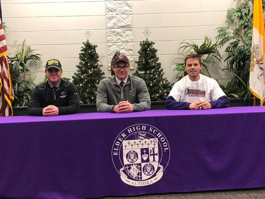 Elder signing day