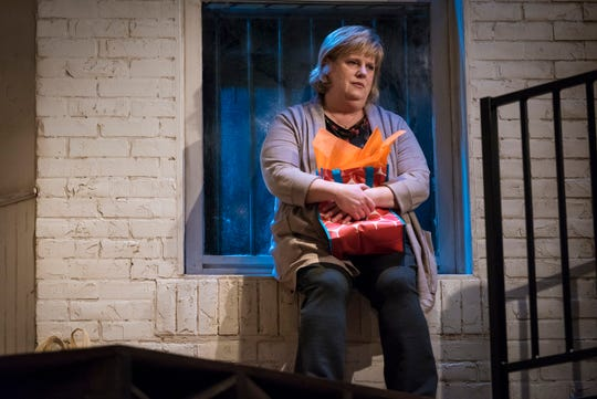 "Sadness and disappointment were themes that ran throughout Ensemble Theatre Cincinnati's January production of ""The Humans,"" which starred, among others, Christine Dye, seen here."