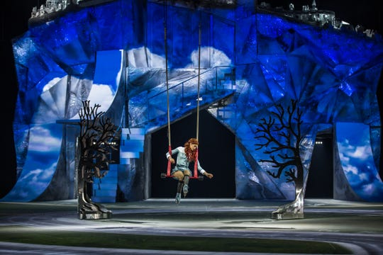 "A scene from Cirque du Soleil's ""Crystal."""