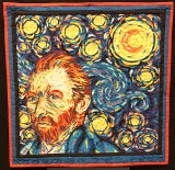 The Barn arts center in Mariemont is featuring an international quilt exhibit paying homage to Vincent Van Gogh.