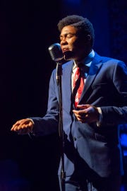 """In the role of Little Willie John, Richard Crandle is the highlight of the Playhouse in the Park's production of """"Cincinnati King,"""" which  closes Dec. 23."""