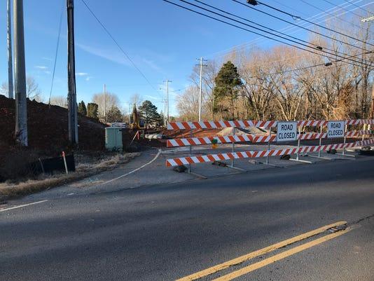 Edmondson Ferry Road construction