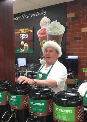 For the 43rd consecutive year, Mike Murphy, the Senior Vice President of QuickChek fresh convenience markets, will be once again be serving up fresh-brewed coffee among other duties as he works the morning shift at one of his company's stores on Dec. 25, just as he has every year since 1976.