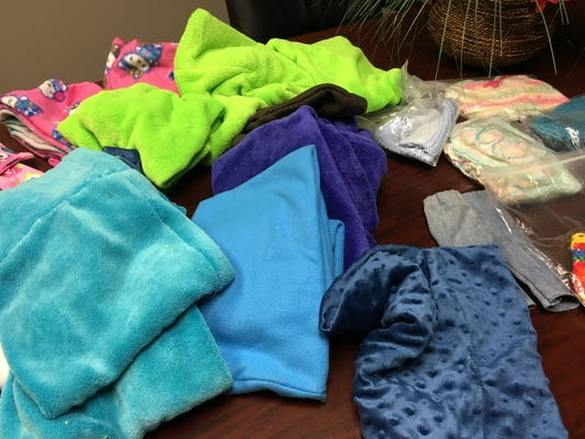 Fleece Cowls And Doll Clothes