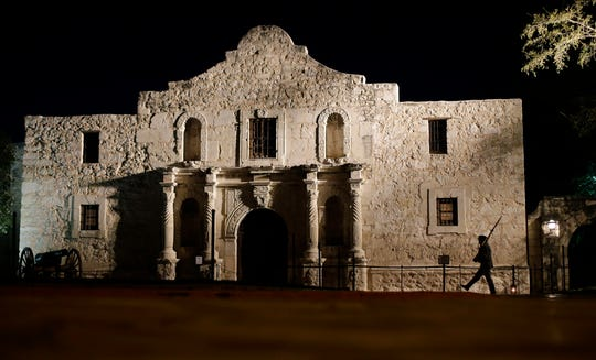 The Alamo, in San Antonio, Texas.