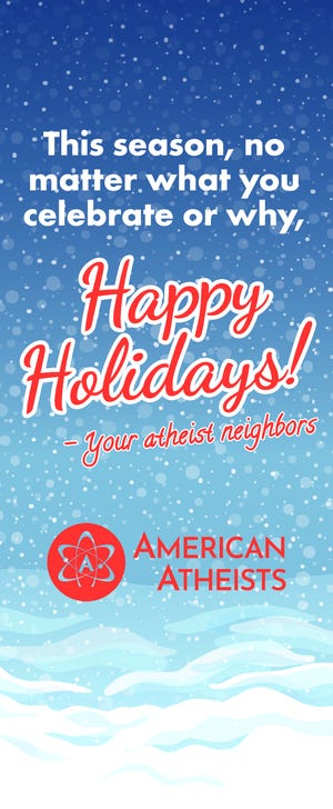 American Atheists holiday greeting