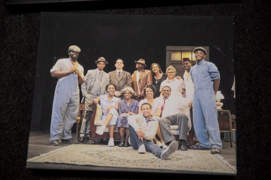 A photo from the Pyramid Theatre Company's first show Fences in 2014.