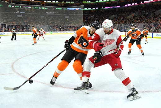 detroit red wings fail to challenge flyers in loss 3 2