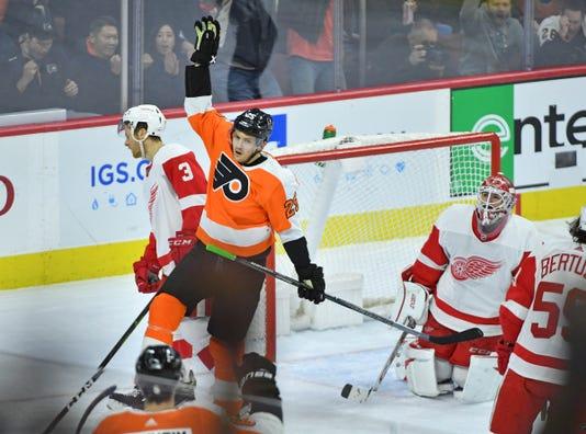 Nhl Detroit Red Wings At Philadelphia Flyers