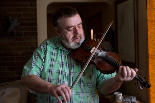 Fiddler Mick Gavin is the organizer of the annual Crossroads Ceili at the Ark.