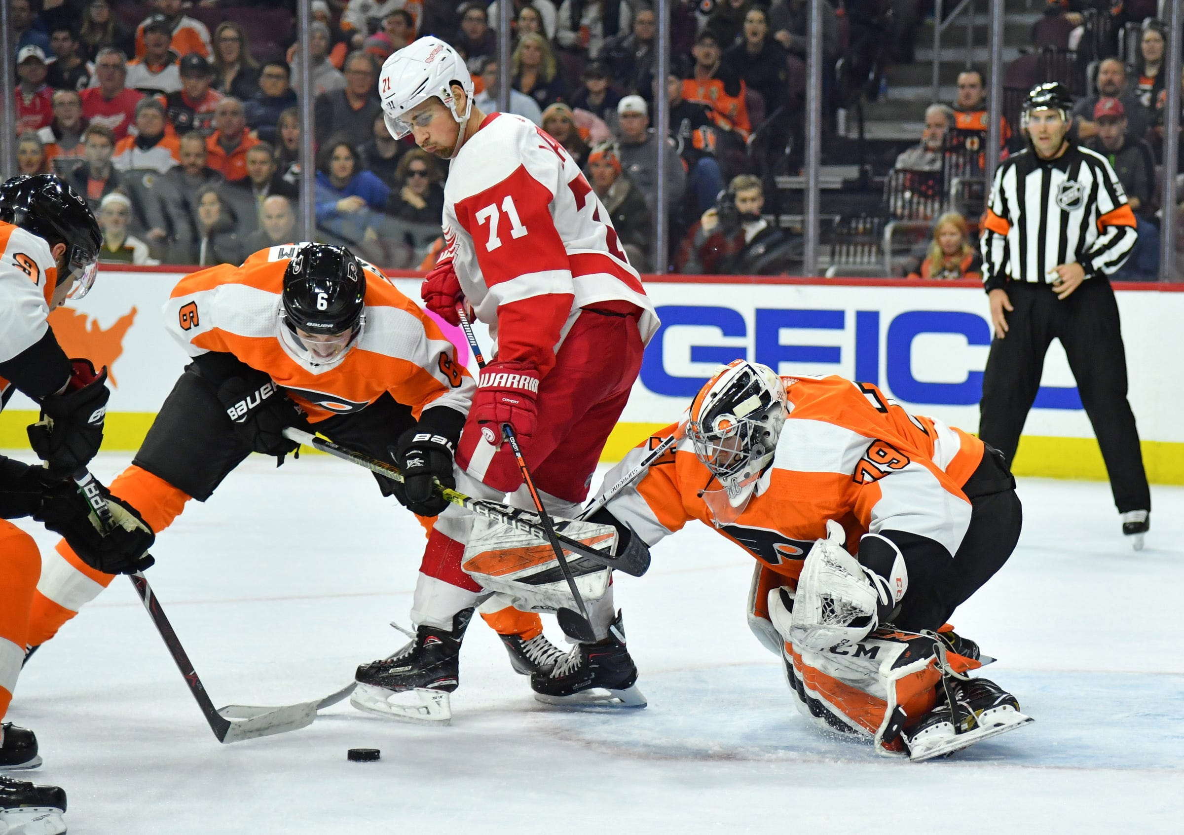 1f7e263f0c6 ... 2019 Detroit Red Wings vs. Philadelphia Flyers  Home-and-home with 1 of  NHL s hottest teams. Detroit Free Press - 05 55 AM ET February 16