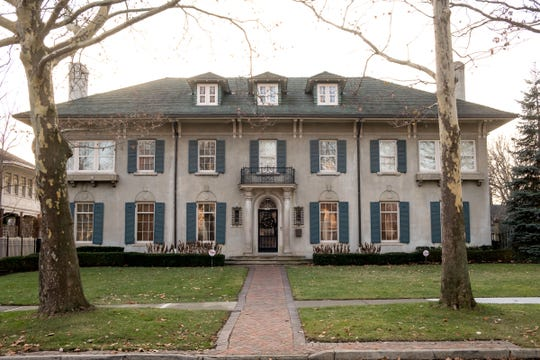 Jarrett and Jazelle Irons bought the Christian H. Hecker House†in Indian Village in Detroit for $1 million in March 2018.
