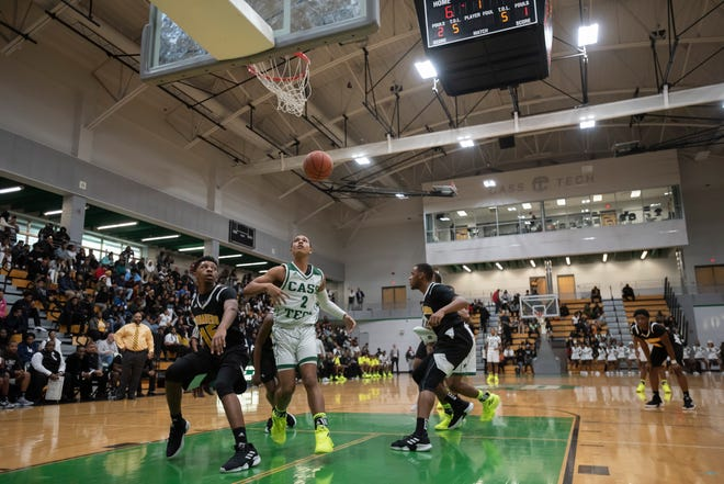Cass Tech and King fought it out for the second time this season.