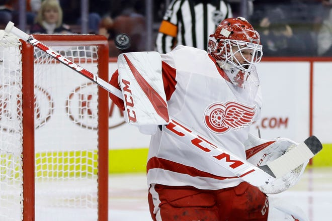 Jonathan Bernier was named a last-minute replacement for goalie Jimmy Howard.