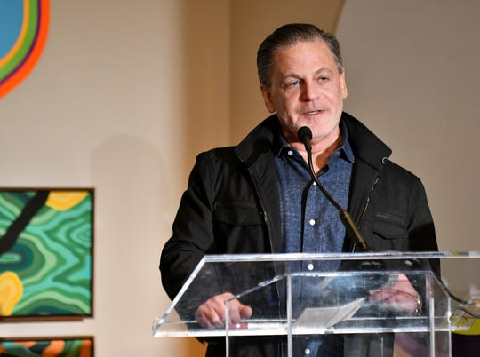 Dan Gilbert, founder of Quicken Loans and Rock Ventures, speaks at a December 2018 press conference.