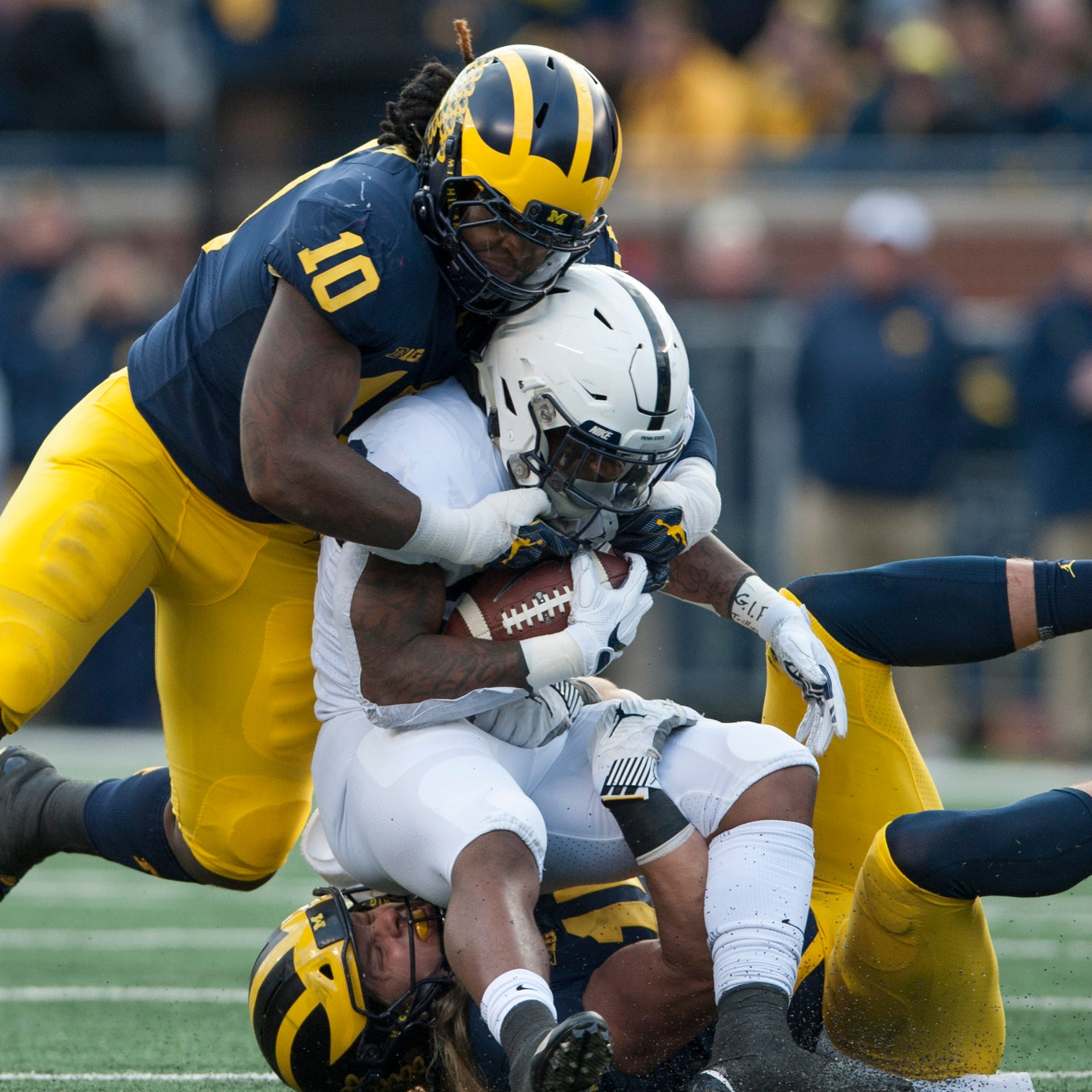 Michigan linebacker Devin Bush to skip senior season, enter NFL Draft