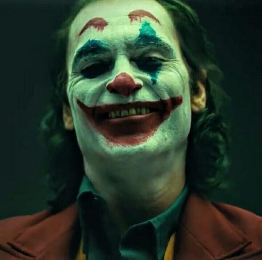 "Joaquin Phoenix in ""Joker."""
