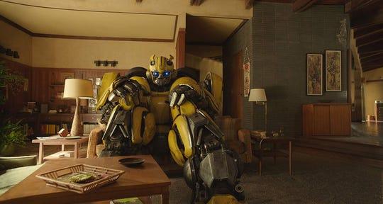 "Bumblebee in ""Bumblebee."""