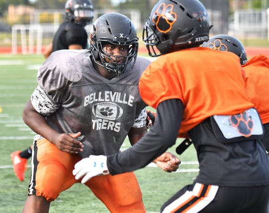 Devontae Dobbs, left, of Belleville is Mark Dantonio's first five-star recruit since Malik McDowell in 2014.
