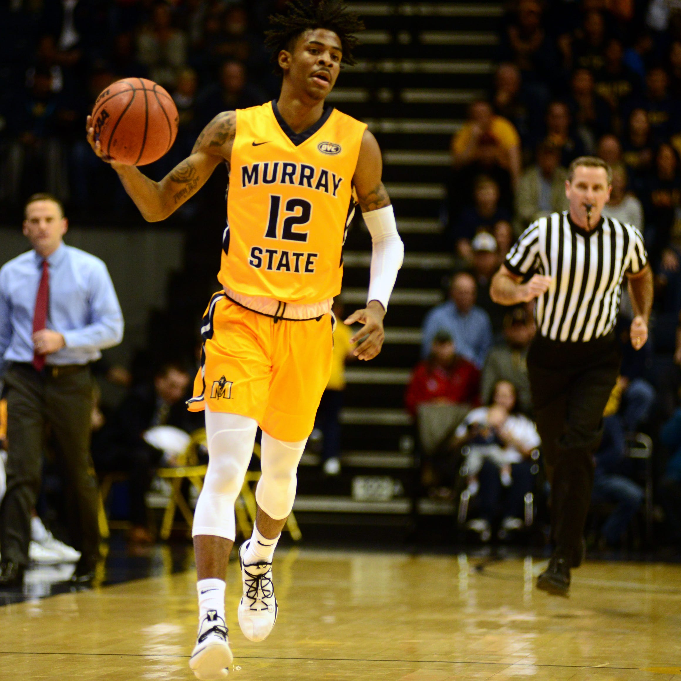 Ja Morant's buzzer-beater dashes Evansville's upset bid at Murray State