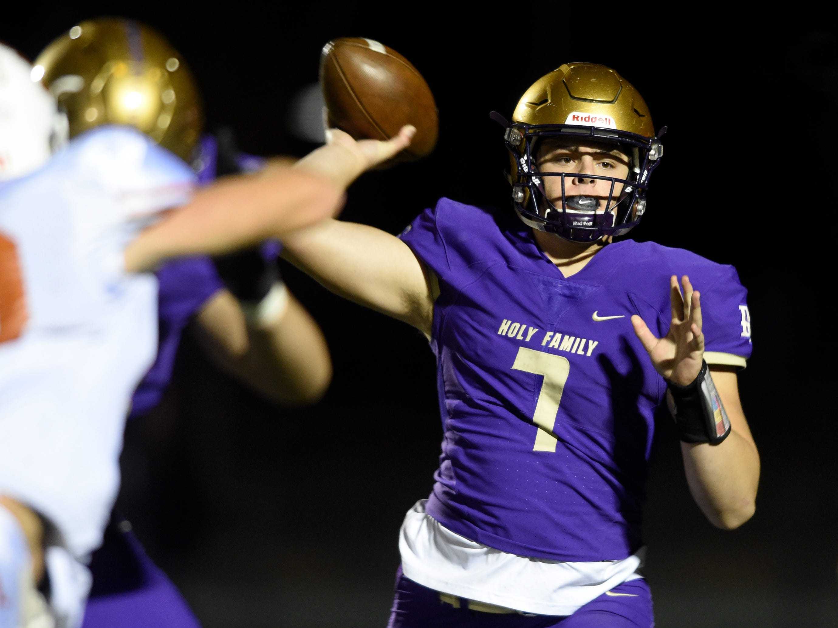 Holy Family High School's Kyle Helbig is committed to CSU after being a do-it-all player for the Tigers.